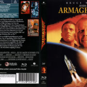 Armageddon (2010) R2 German Blu-Ray Cover & label