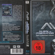 ALIEN VS PREDATOR (2004-2007) R2 German Blu-Ray Cover & labels