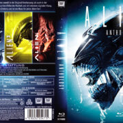 Alien Anthology (1979-86-92-97) (2011) R2 German Blu-Ray Cover & labels