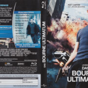 Das Bourne Ultimatum (2010) R2 German Blu-Ray Cover & label