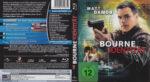 Die Bourne Identität (2009) R2 German Blu-Ray Cover & label