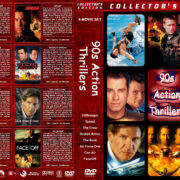 90s Action Thrillers (8) (1993-1997) R1 Custom Cover
