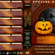 Animated Spooky Collection – Volume 1 (1993-2009) R1 Custom Covers