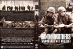 Band of Brothers – DVD 1 – Teil 1 & 2 (2002) R2 German Custom Cover & label