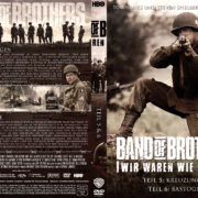 Band of Brothers - DVD 3 - Teil 5 & 6 (2002) R2 German Custom Cover & label