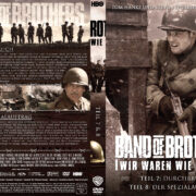 Band of Brothers - DVD 4 - Teil 7 & 8 (2002) R2 German Custom Cover & label