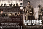 Band of Brothers – DVD 5 – Teil 9 & 10 (2002) R2 German Custom Cover & label