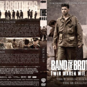 Band of Brothers - DVD 5 - Teil 9 & 10 (2002) R2 German Custom Cover & label