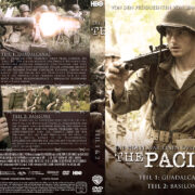 The Pacific - DVD 1 - Teil 1 & 2 (2010) R2 German Custom Cover & label