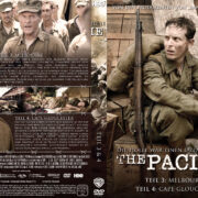 The Pacific - DVD 2 - Teil 3 & 4 (2010) R2 German Custom Cover & label