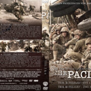 The Pacific – DVD 3 – Teil 5 & 6 (2010) R2 German Custom Cover & label