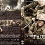 The Pacific - DVD 4 - Teil 7 & 8 (2010) R2 German Custom Cover & label