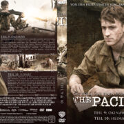 The Pacific - DVD 5 - Teil 9 & 10 (2010) R2 German Custom Cover & label