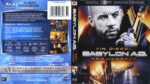 Babylon A.D. Raw and Uncut (2008) R1 Blu-Ray Cover & labels