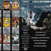 Classic War Movie Collection (12) (1951-1977) R1 Custom Cover