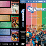DC Universe Animated Collection - Volume 2 (2007-2009) R1 Custom Cover