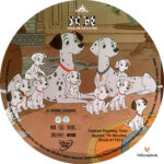 101 Dalmatians (1961) R1 Custom labels