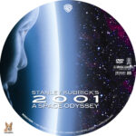 2001: A Space Odyssey (1968) R1 Custom Labels