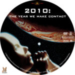2010: The Year We Make Contact (1984) R1 Custom Label