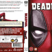 Deadpool (2016) R2 Blu-Ray Nordic Cover