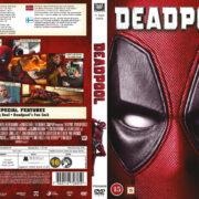 Deadpool (2016) R2 DVD Nordic Cover