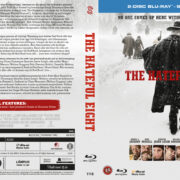 The Hateful Eight (2016) R2 Blu-Ray Nordic Cover