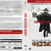 The Hateful Eight (2016) R2 DVD Nordic Cover