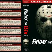 Friday the 13th, Parts I-VI (1980-1986) R1 Custom Covers