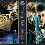 The Harry Potter Collection: Years 1-6 (2001-2009) R1 Custom Cover