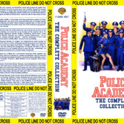 Police Academy: The Complete Collection (1984-1988) R1 Custom Cover