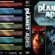 Planet of the Apes: Evolution Collection (7) (1968-2011) R1 Custom Cover