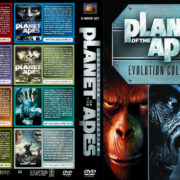 Planet of the Apes: Evolution Collection (8) (1968-2014) R1 Custom Cover