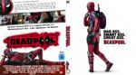 Deadpool (2016) R2 German Custom Blu-Ray Cover & disc label