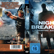 Nightbreakers Vampire Nation (2012) R2 German Custom Cover & label