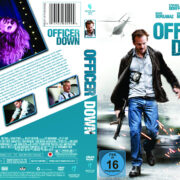 Officer Down (2013) R2 German Custom Cover & label