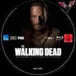 The Walking Dead Staffel 5 (2015) R2 German Custom labels