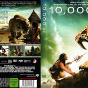 10 000 BC (2008) R2 German Cover & label
