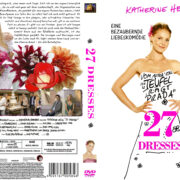 27 Dresses (2008) R2 German Custom Cover & label