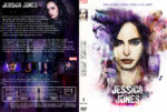 Jessica Jones Staffel 1 (2015) R2 German Custom Cover & labels