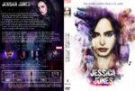 Jessica Jones Staffel 1 (2015) R2 German Custom Cover & labels