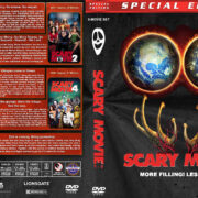 Scary Movie 1-5 (2000-2013) R1 Custom Covers