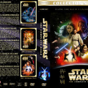 Star Wars: The Complete Saga (6) (1977-2005) R1 Custom Covers