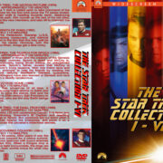 The Star Trek Collection I-VI (1979-1991) R1 Custom Cover