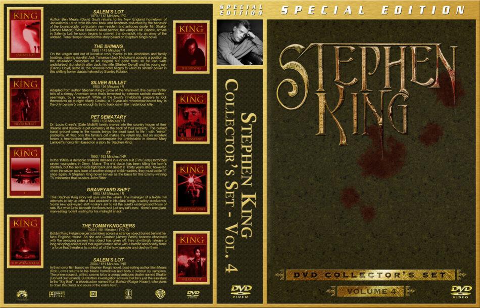 Stephen King Collector's Set - Volume 4 (1979-2004) R1 Custom