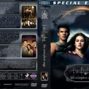 Twilight: The Complete Saga (2008-2012) R1 Custom Covers