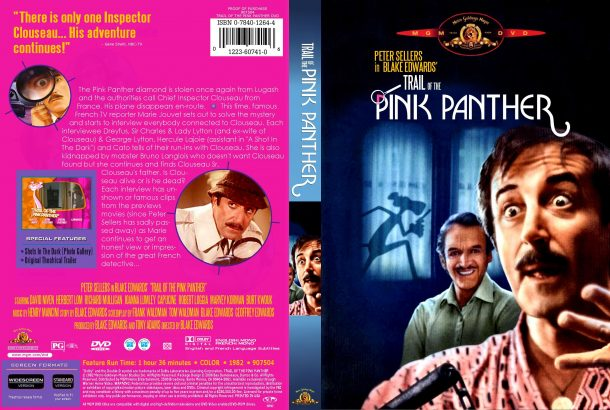 Trail of the Pink Panther (1982) R1 Custom Cover
