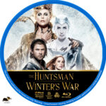 The Huntsman: Winter's War (2016) R1 Custom Blu-Ray Label