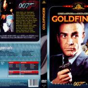 James Bond 007 – Goldfinger (1964) R2 German Cover