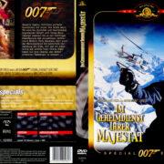 James Bond 007 – Im Geheimdienst Ihrer Majestät (1969) R2 German Cover