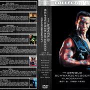 The Arnold Schwazernegger Filmography – Set 2 (1985-1990) R2 German Cover